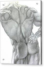 Nude 2a Acrylic Print by Valeriy Mavlo