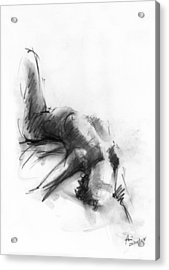Nude 4 Acrylic Print by Ani Gallery