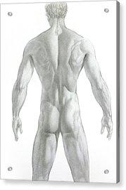 Nude 7 Acrylic Print by Valeriy Mavlo