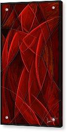 Nude Dancer Acrylic Print by David Kyte