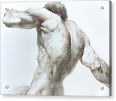 Nude1c Acrylic Print by Valeriy Mavlo