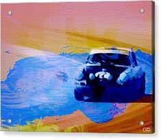 Number 49 Porshce Acrylic Print by Naxart Studio