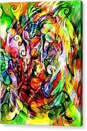 Organized Chaos Acrylic Print by Debbie Hall