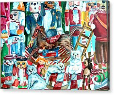 Nutcracker Suite Acrylic Print by Mindy Newman