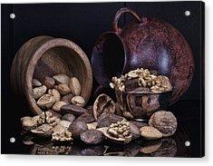 Nuts Acrylic Print by Tom Mc Nemar