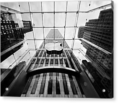 Nyc Big Apple Acrylic Print by Nina Papiorek