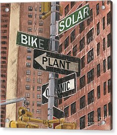 Nyc Broadway 2 Acrylic Print by Debbie DeWitt