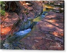 Oak Creek Canyon Splendor Acrylic Print by Sandra Bronstein