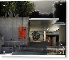Oakland Museum Of California . 7d13037 Acrylic Print by Wingsdomain Art and Photography