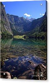Obersee Acrylic Print by Nailia Schwarz