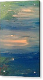 Ocean Abstract Acrylic Print by Brad Scott