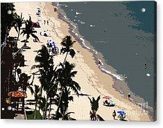 Ocean Paradise Acrylic Print by David Lee Thompson