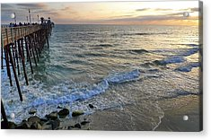 Oceanside Acrylic Print by Skip Hunt