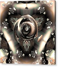 Ocf 391 The Fragrance Of Thought Acrylic Print by Claude McCoy