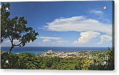 Ocho Rios From Ysassis Lookout Point Acrylic Print by Charles Kozierok