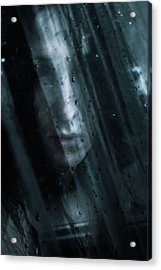 October Rain Acrylic Print by Cambion Art