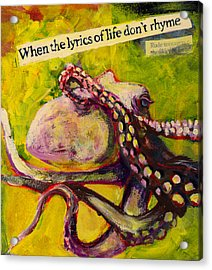 Octopus Acrylic Print by Tilly Strauss