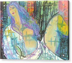 Odalisque Acrylic Print by Todd  Peterson
