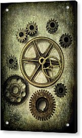 Odd Gears Acrylic Print by Garry Gay