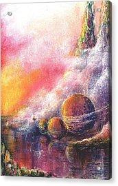 Odyessy Acrylic Print by Melody Horton Karandjeff