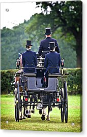 Of More Gentile Times Acrylic Print by Meirion Matthias