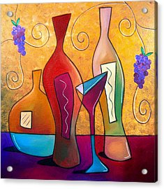 Off The Vine Acrylic Print by Tom Fedro - Fidostudio