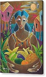 Ofrendas De Mi Tierra Acrylic Print by Oscar Ortiz