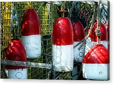 Oh Bouy Acrylic Print by Gina Cormier