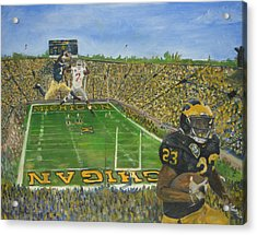 Ohio State Vs. Michigan 100th Game Acrylic Print by Travis Day