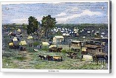 Oklahoma City, 1889 Acrylic Print by Granger