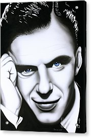 Ol' Blue Eyes Acrylic Print by Bruce Carter