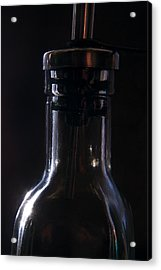 Old Bottle Acrylic Print by Steve Somerville