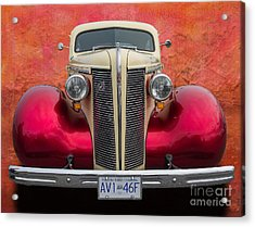 Old Buick Acrylic Print by Jim  Hatch
