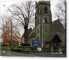 Old Church  Acrylic Print by Joyce Woodhouse