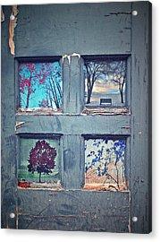 Old Doorways Acrylic Print by Tara Turner