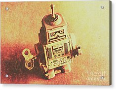 Old Electric Robot Acrylic Print by Jorgo Photography - Wall Art Gallery
