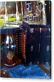 Old Fashioned Entertainment Acrylic Print by Karl Reid