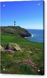 Old Head Of Kinsale Lighthouse Acrylic Print by The Irish Image Collection