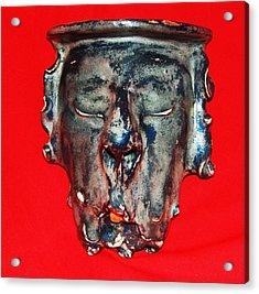 Old Man Acrylic Print by Alexander Almark