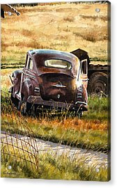 Old Plymouth Acrylic Print by Tom Hedderich