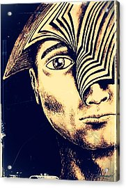 Old Precepts Acrylic Print by Paulo Zerbato