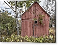 Old Red Shack Acrylic Print by Edward Fielding