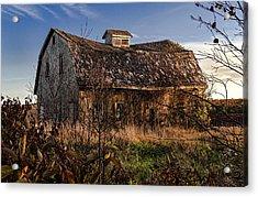 Old Rustic Barn Acrylic Print by Marty Saccone