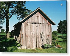 Old Shed Acrylic Print by Lauri Novak