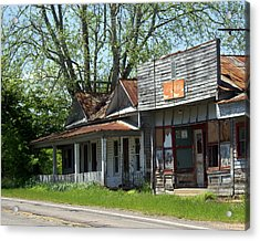 Old Store Acrylic Print by Marty Koch