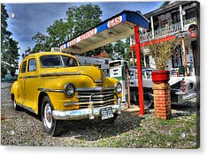 Old Taxi 1 Acrylic Print by Todd Hostetter