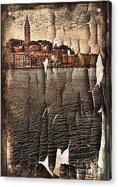 Old Town Acrylic Print by Svetlana Sewell