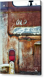 Old Wagon Acrylic Print by Tim Gainey