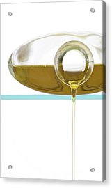 Olive Oil Acrylic Print by Frank Tschakert