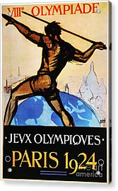 Olympic Games, 1924 Acrylic Print by Granger
